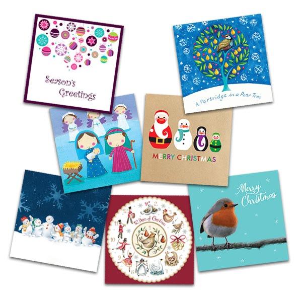 Charity Christmas card supporting The Elizabeth Foundation for preschool deaf children