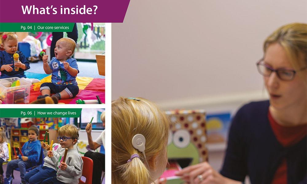 The Elizabeth Foundation for preschool deaf children - Impact Report 2018-19