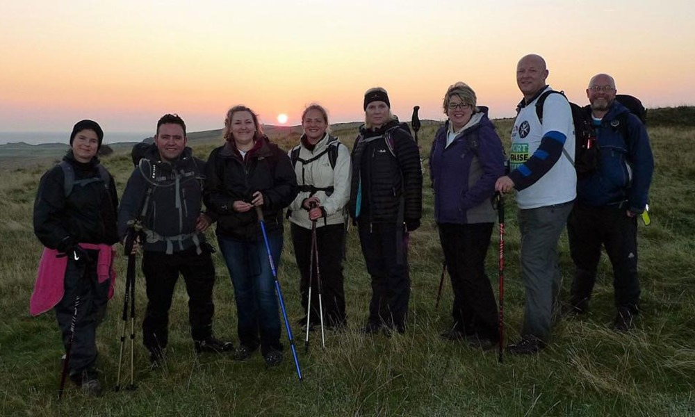 South Downs at Night Challenge - The Elizabeth Foundation for preschool deaf children