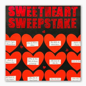Sweetheart sweepstake tickets