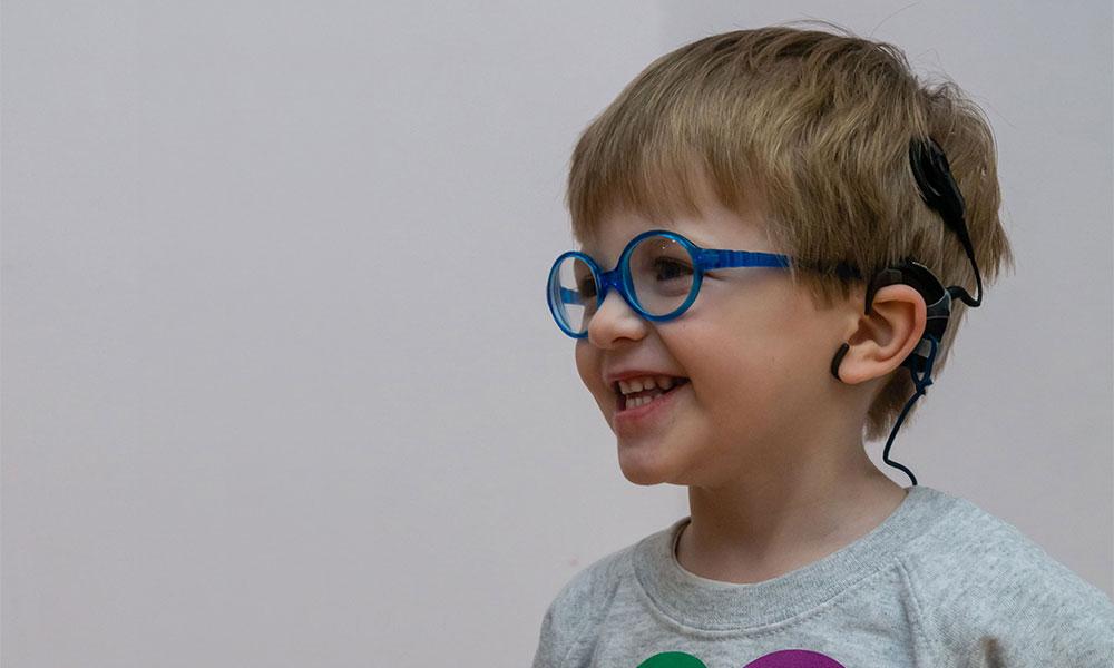 Arlo - The Elizabeth Foundation for Preschool Deaf Children