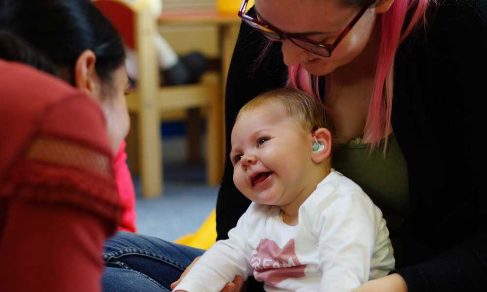 New resources for deaf babies from The Elizabeth Foundation